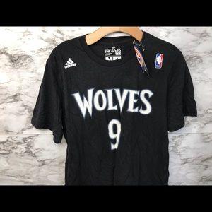 Minnesota Timberwolves Ricky Rubio Men's T-Shirt M